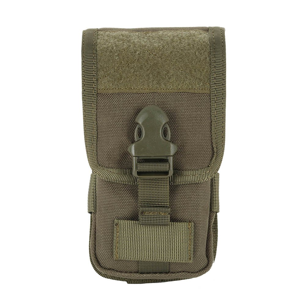 Reefa Multi-Purpose Premium Nylon Outdoor Molle Pouch Compact EDC Utility Gadget Waist Bag Pack for Mobile Phone and Other Small Tools