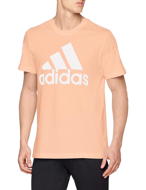 adidas CZ7508 XL, Camiseta para Hombre, Naranja/Blanco (Haze Coral s17),