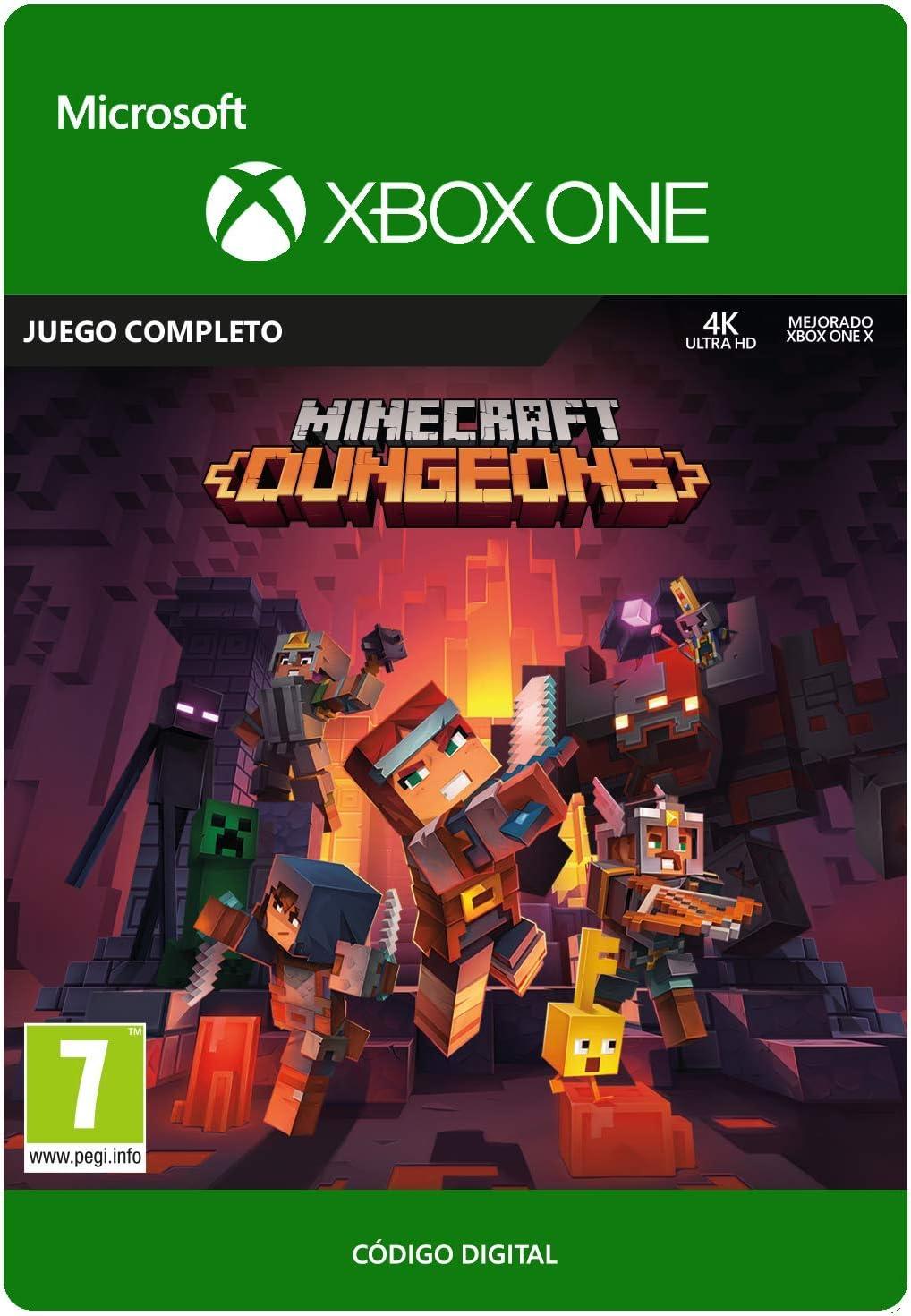 Minecraft Dungeons Standard | Xbox One - Código de descarga ...