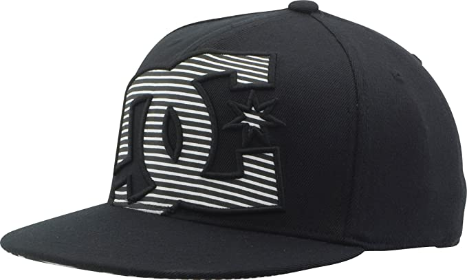 DC Shoes Cap Stacked by Negro Negro Talla:Talla única: Amazon.es ...