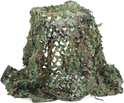 Tarnnetz Forest Landscapes Camouflage Netz Jagd Armee Army Sichtschutz Tarnung