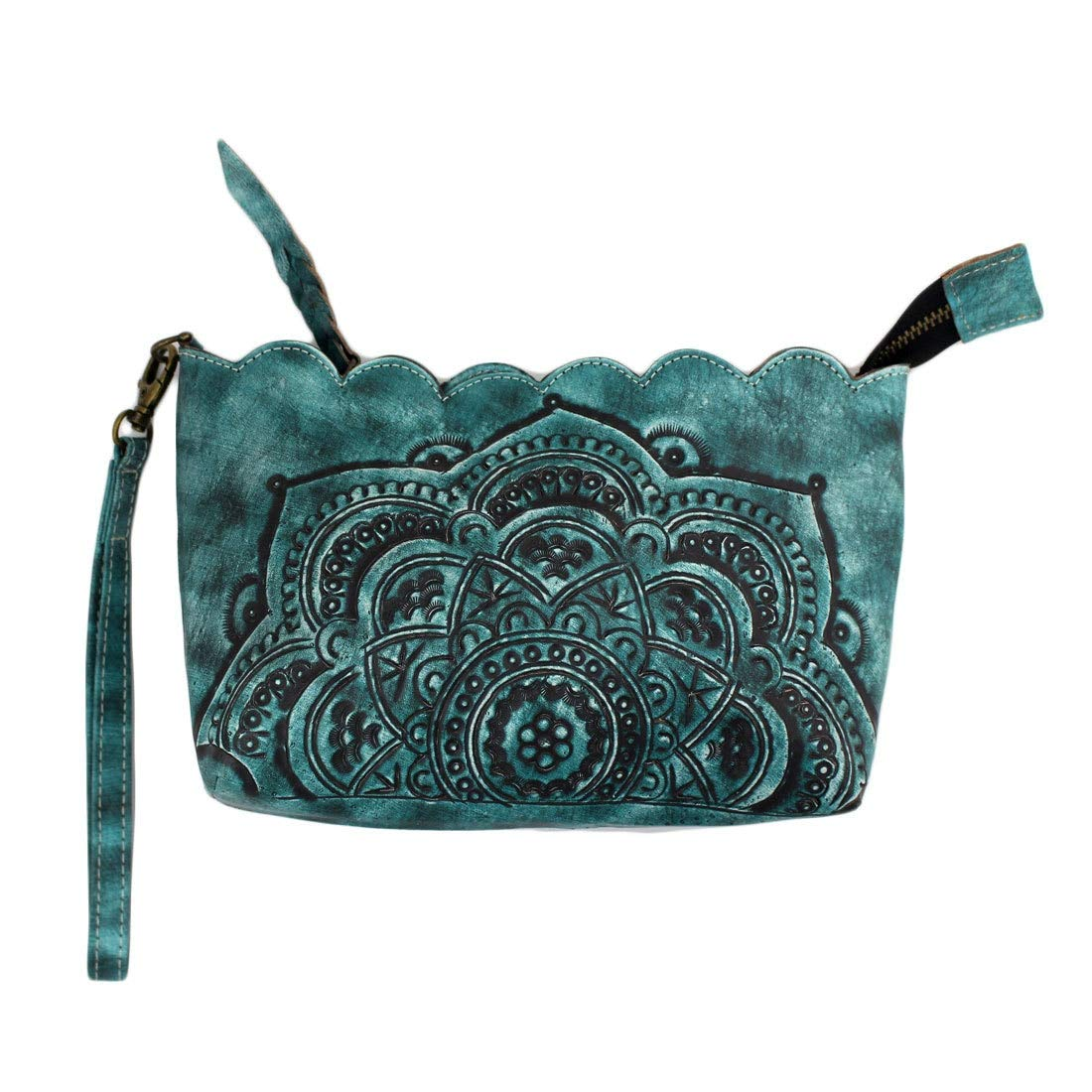 Mandala Women's Genuine...