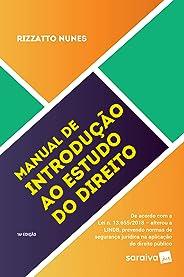 Manual de introdução ao estudo do direito - 16ª edição de 2019