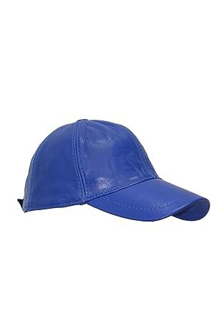 New BASEBALL Golf Unisex Men s Ladies Real Soft Lambskin Leather Hip-Hop  Cap Hat VELCRO a8a66ecd9337