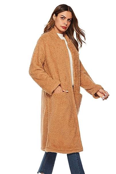 nuevo estilo e8feb af44c MEIbax Abrigos Mujer Invierno Moda para Mujer Damas Abrigo ...
