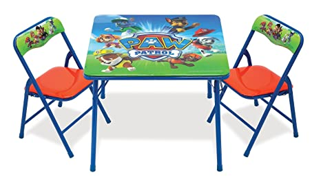 Amazon.com: Nickelodeon Paw Patrol Activity Table Sets: Toys & Games