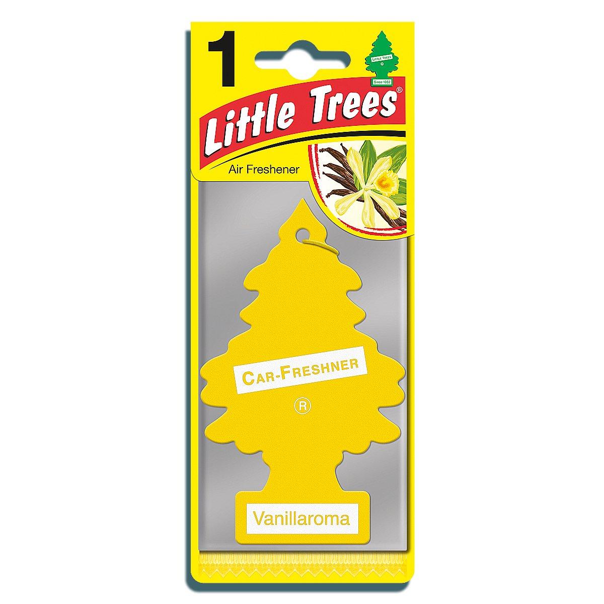 Little trees mtr0001 air freshener vanillaroma fragrance amazon co uk car motorbike