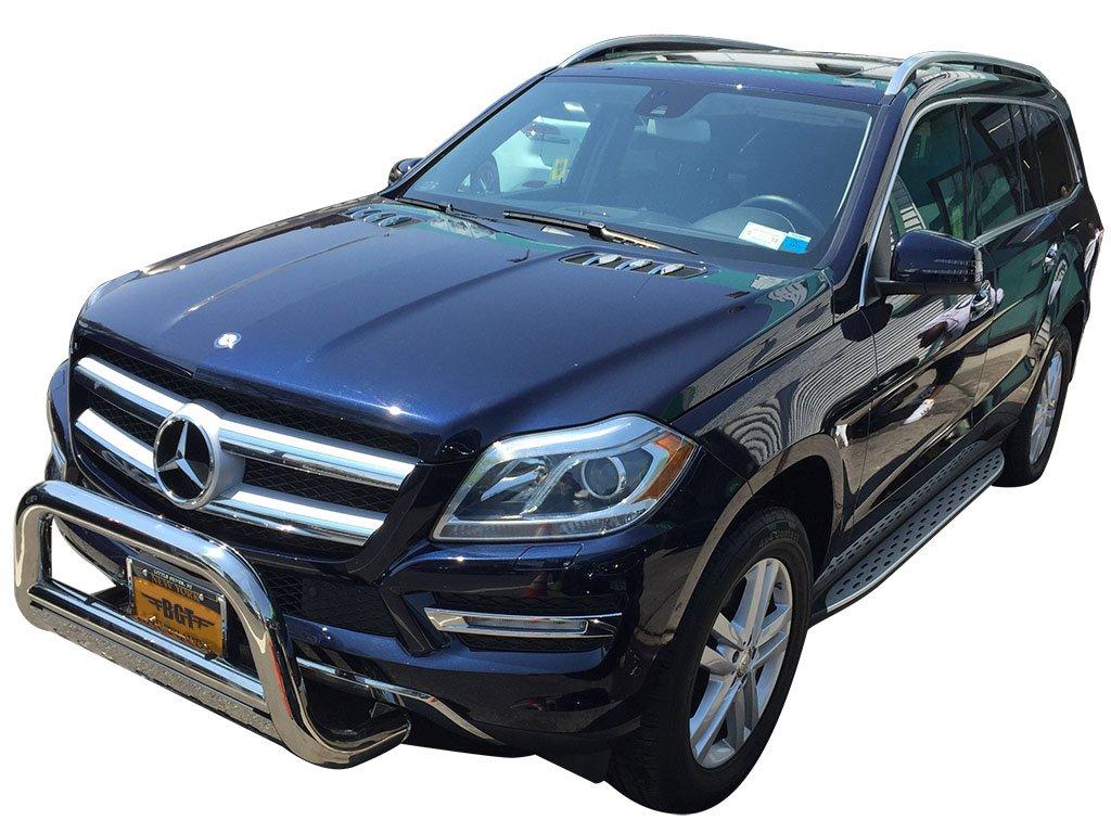 VGSSB-1026AL Compatible with Mercedes Benz 2013-2016 GL GL350 GL450 GL550 GL63AMG X166 Side Step Running Board Aluminum
