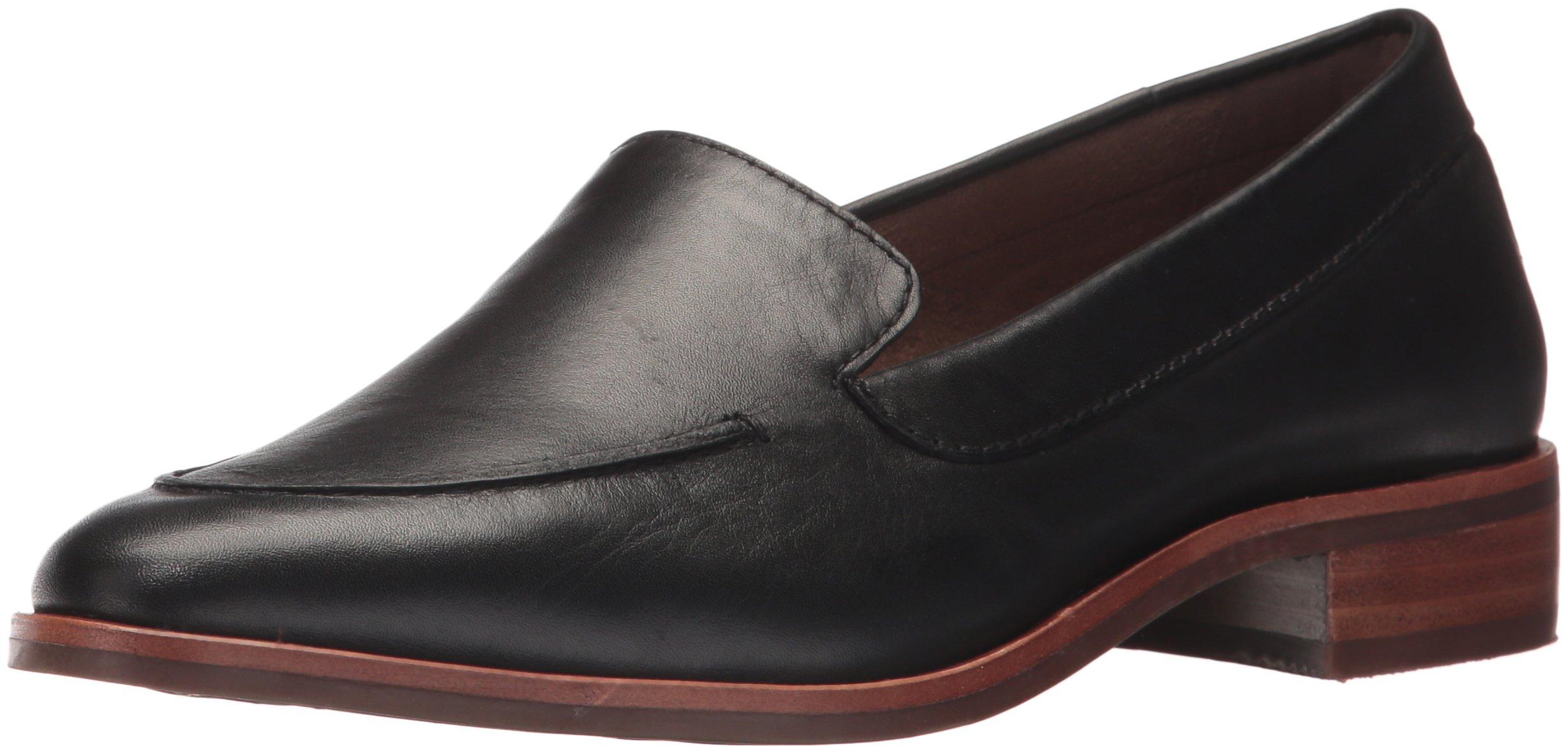 Aerosoles Women's East Side Loafer, Black Leather, 8 M US