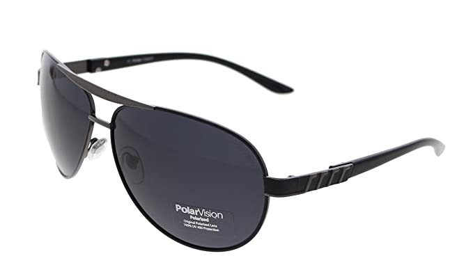 95c0b39f06 Image Unavailable. Image not available for. Colour  Vast Polar Vision  Polarized Aviator Unisex Sunglasses ...