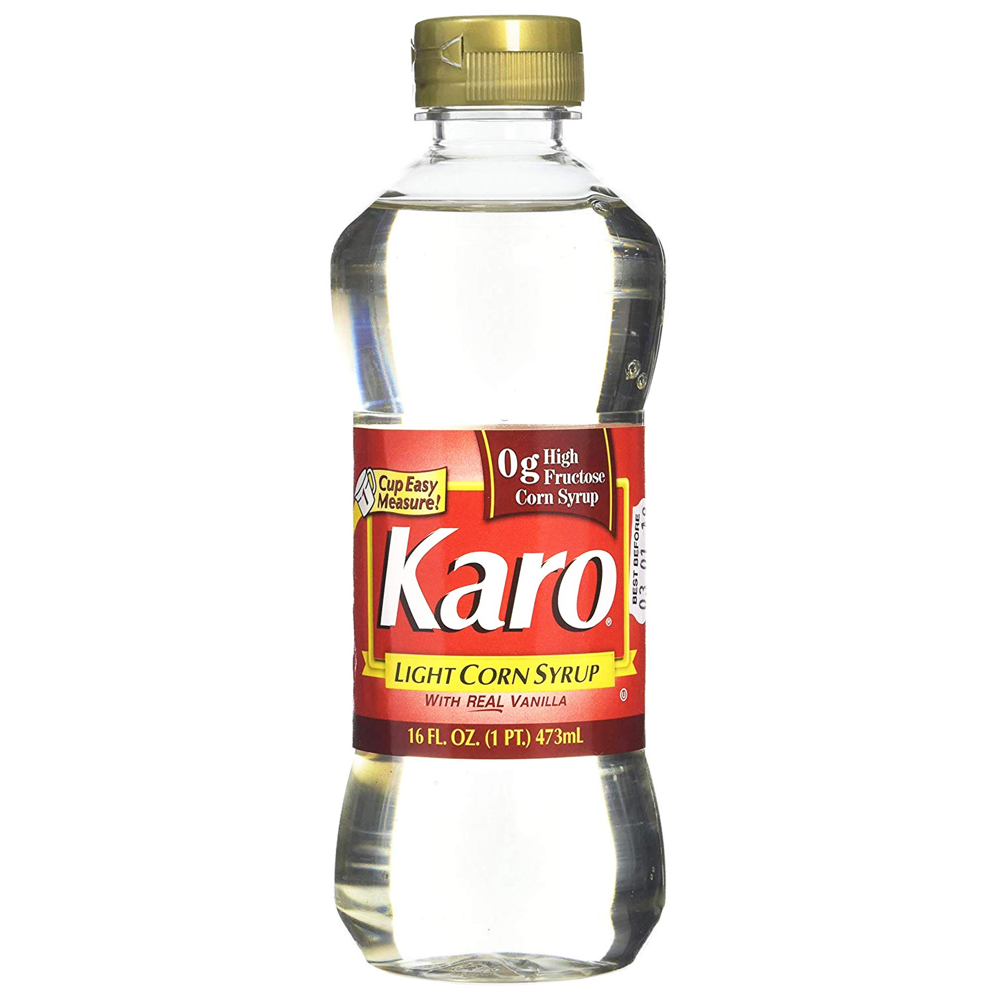 Karo Light Corn Syrup - Vanilla Flavoured - Gluten Free - High Fructose Corn Syrup Free - Ideal for Baking, 473 millimetre (Pack of 1)