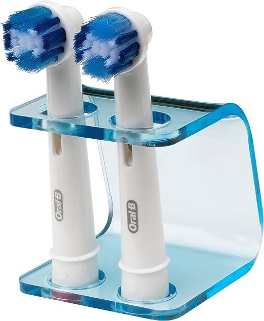 Soporte para cepillo de dientes el/éctrico con agujeros para 4 cabezales