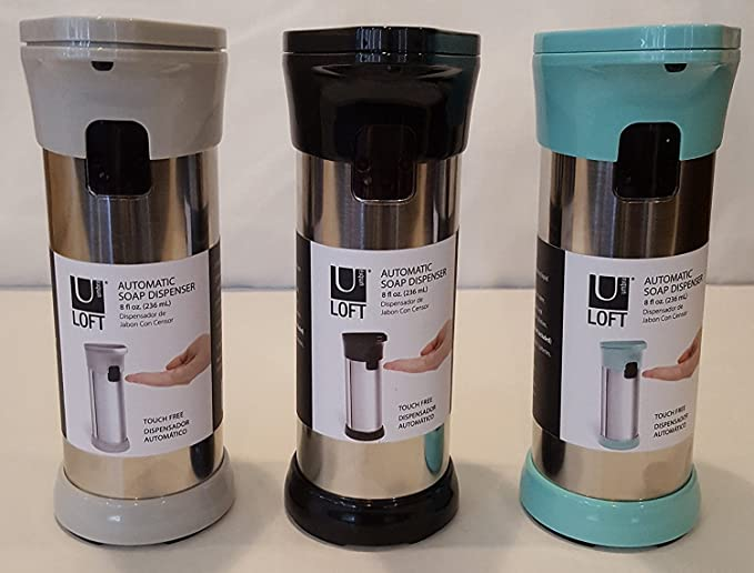 Amazon.com: Automatic Dispenser for Soap, Gel or Lotion (black, Grey or Teal): Home & Kitchen