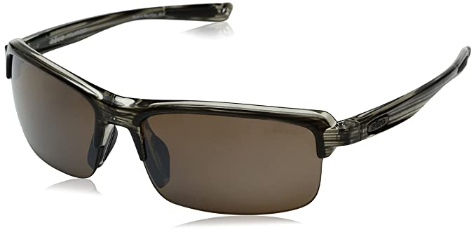 0a43032233 Revo Sunglasses - Abyss X   Frame  Brown Lens  Polarized Brown   Amazon.co.uk  Clothing