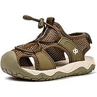 BMCiTYBM Boys Girls Sport Water Sandals Closed-Toe Outdoor Beach Summer (Toddler/Little Kid)