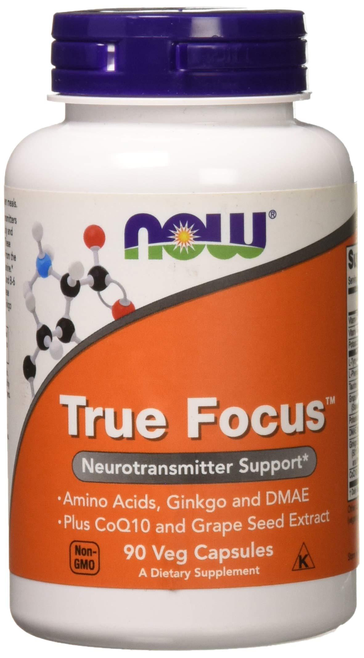 Now Foods True Focus - 90 VCaps