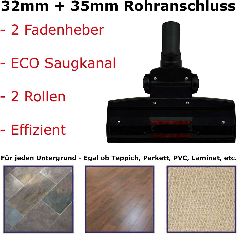 Kombidüse geeignet für Clatronic Staubsauger 32mm//35mm Saugrohr