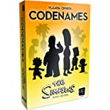 Codenames The Simpsons Edition | Featuring Artwork from Your Favorite Simpsons Seasons | Officially Licensed Simpsons Game | Codenames Family Board Game