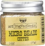 Prima Marketing Finnabair Art Ingredients Micro Beads, 2 oz, Copper