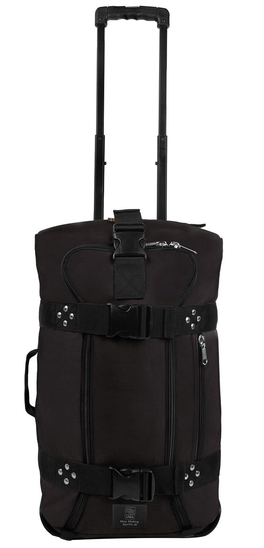 クラブグローブMini Rolling Duffle III Travel Luggage B01G99X4YY ブラック ブラック