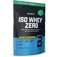 BioTechUSA Iso Whey ZERO, Lactose, Gluten, Sugar FREE, Premium Whey Protein Isolate, 1.816 kg, Lemon Cheesecake