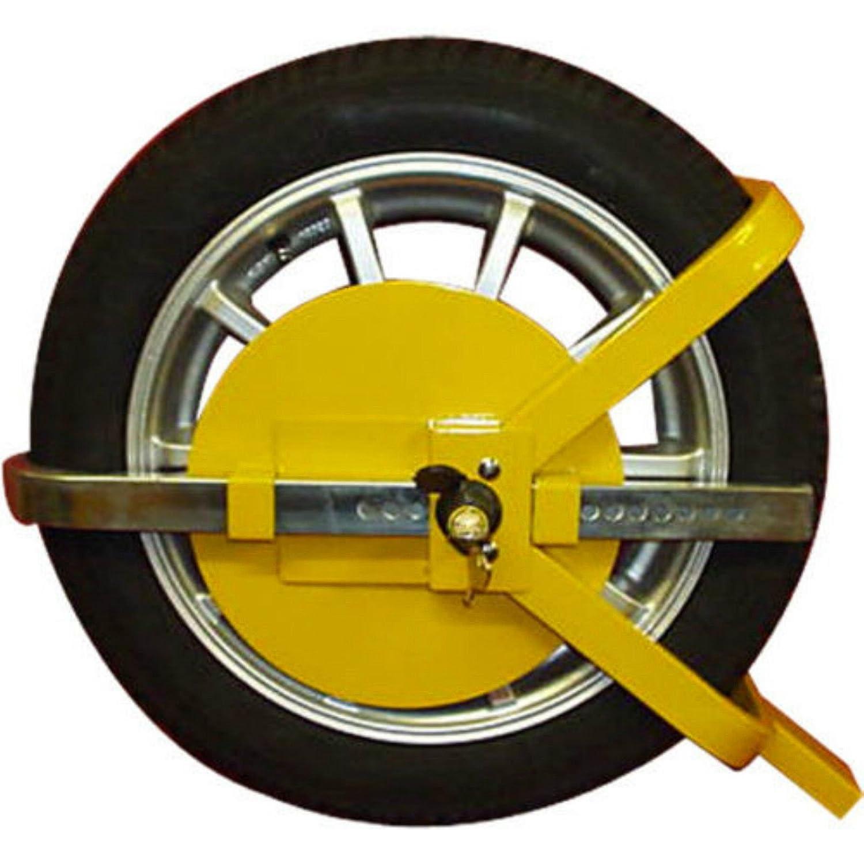 D2B - Cepo de acero para rueda de coche, furgoneta, remolque, etc ...