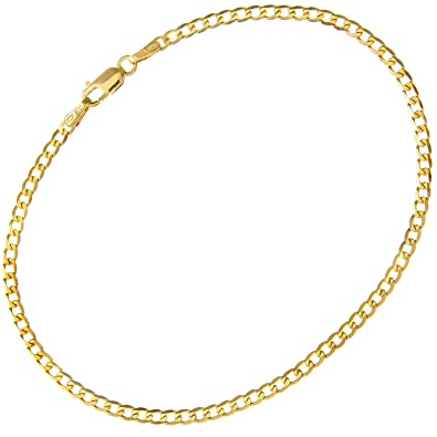Citerna Women's 9ct Yellow Gold Curb Chain Necklace - 2.3mm width uHdzzAmiJT