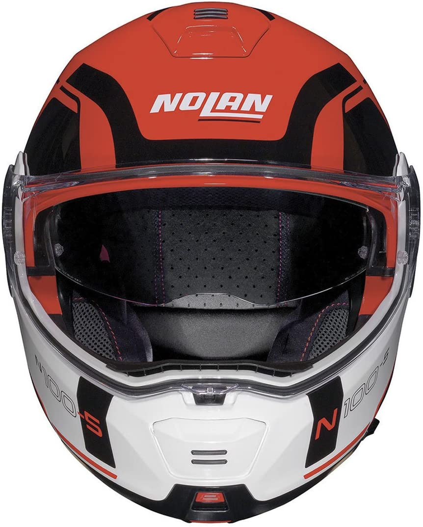 Nolan N100-5 Consistency N-Com Klapphelm M Orange 58