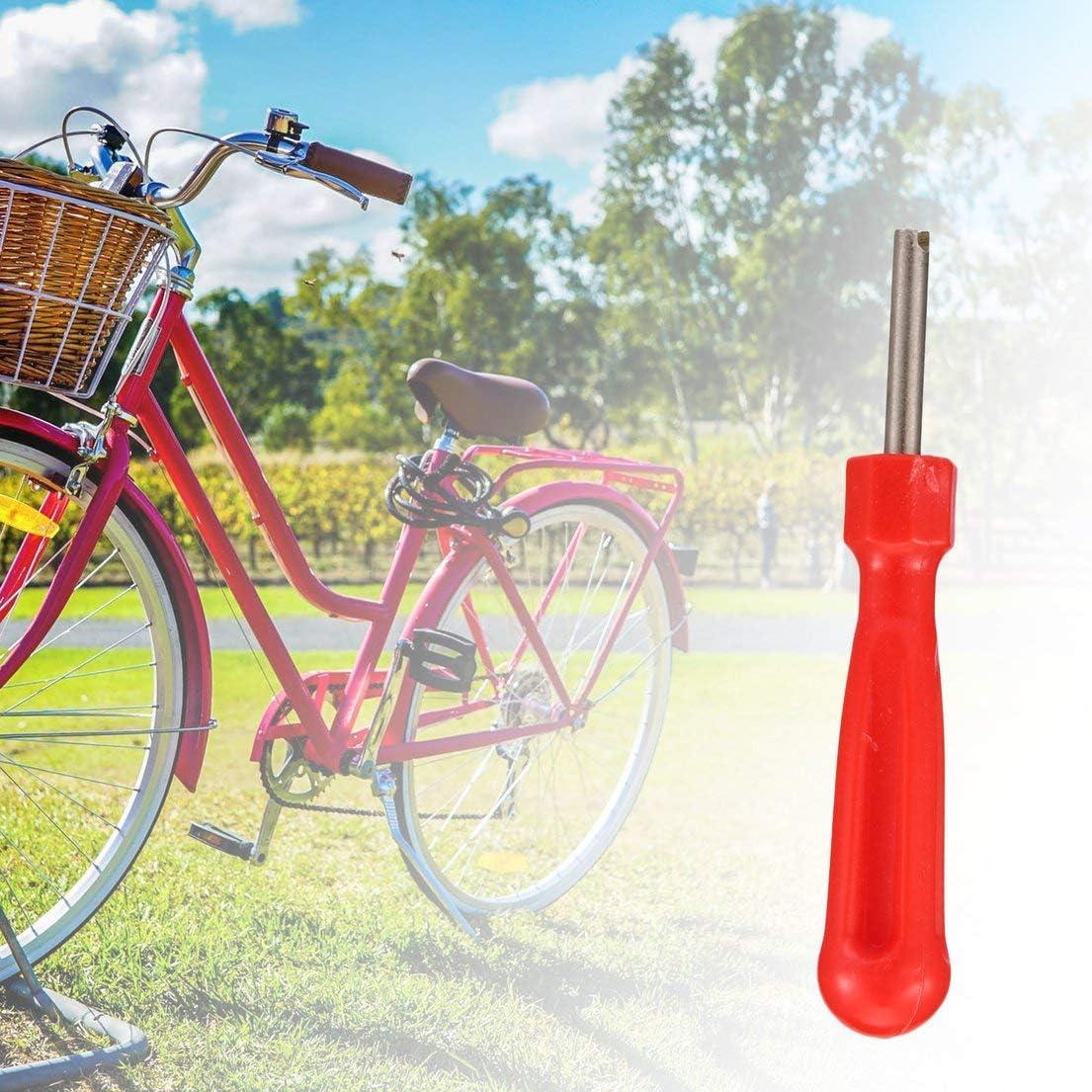 SKYYKS Tyre Valves Stem Repair Tools Car Tire Valve Core Remover Removal Inner Tube Key Car Bike Bicycle Cycle Tool