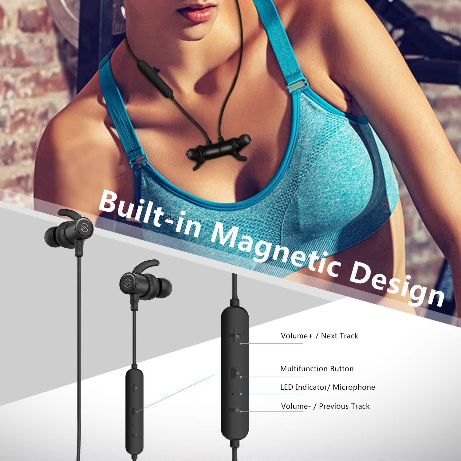 SoundPeats Magnetic Wireless Earbuds Review