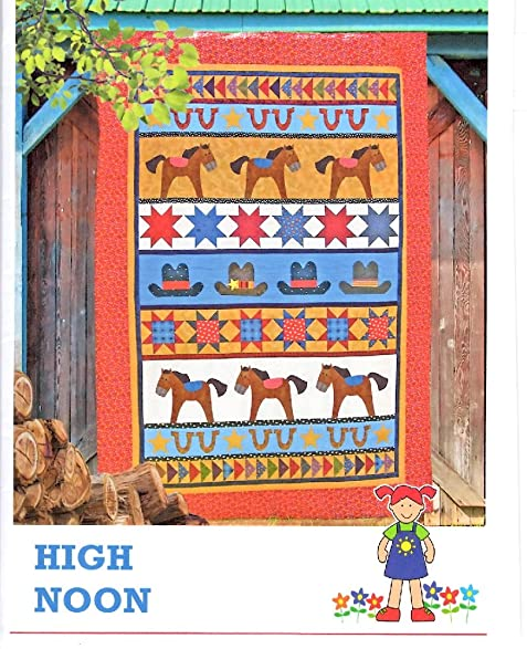 Amazon High Noon Western Quilt Pattern From The Red Boot Quilt