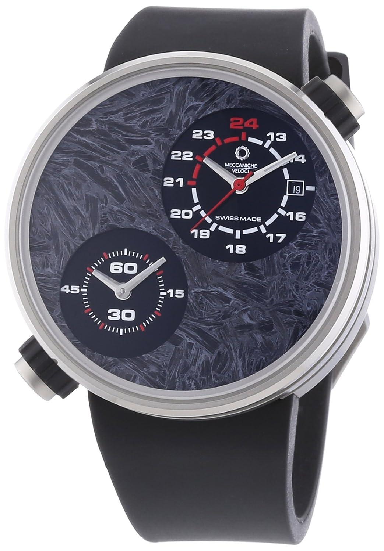 MECCANICHE VELOCI aufgrund Valvole ccm Limited Edition Herren Automatik Uhr mit grauem Zifferblatt Analog-Anzeige