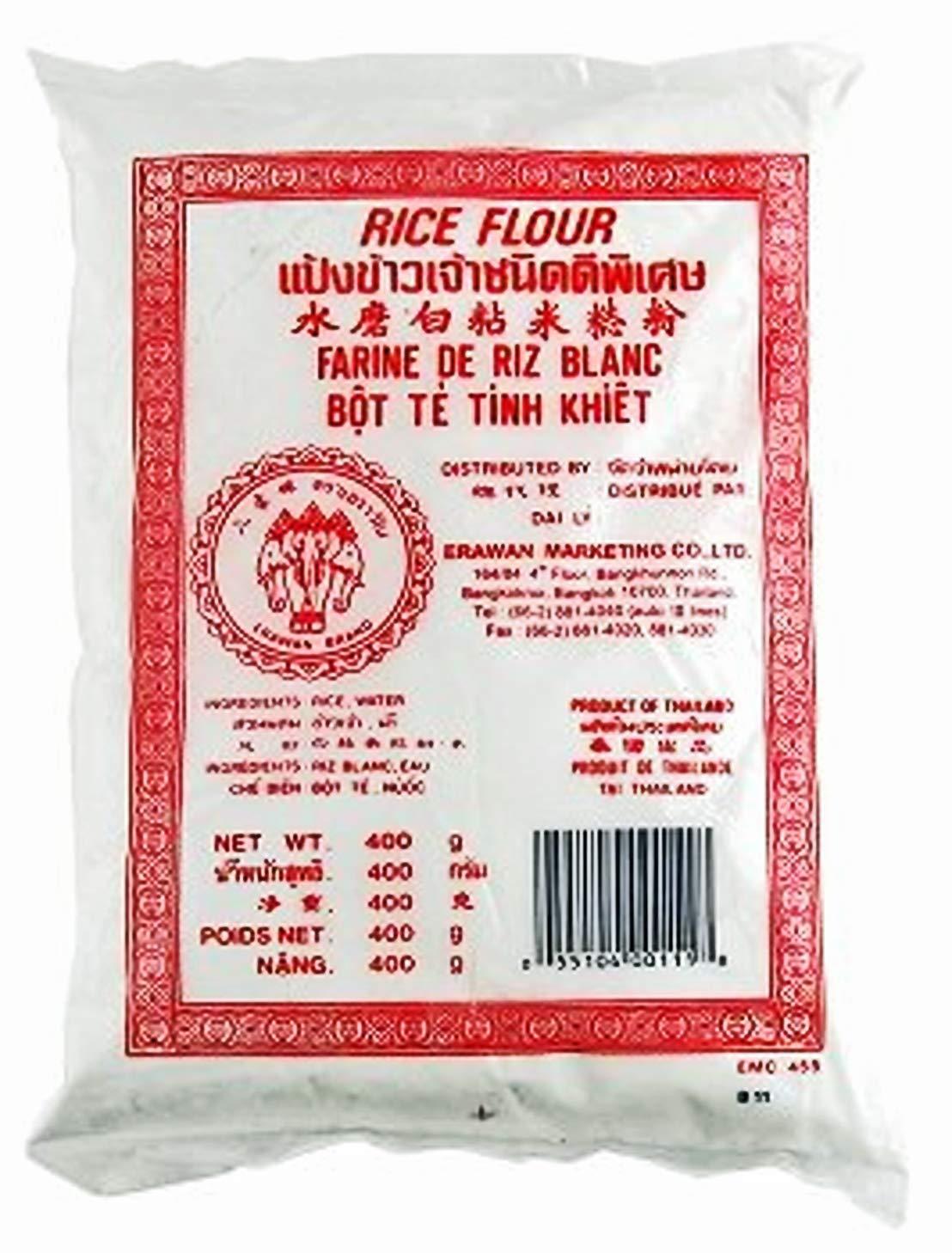 Thai Rice Flour Gluten Free Great for Cooking & Baking. Erawan Brand (3)