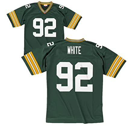 4d021ba36e7 Green Bay Packers Mitchell   Ness 1996 Reggie White  92 Replica Throwback  Jersey (XXL