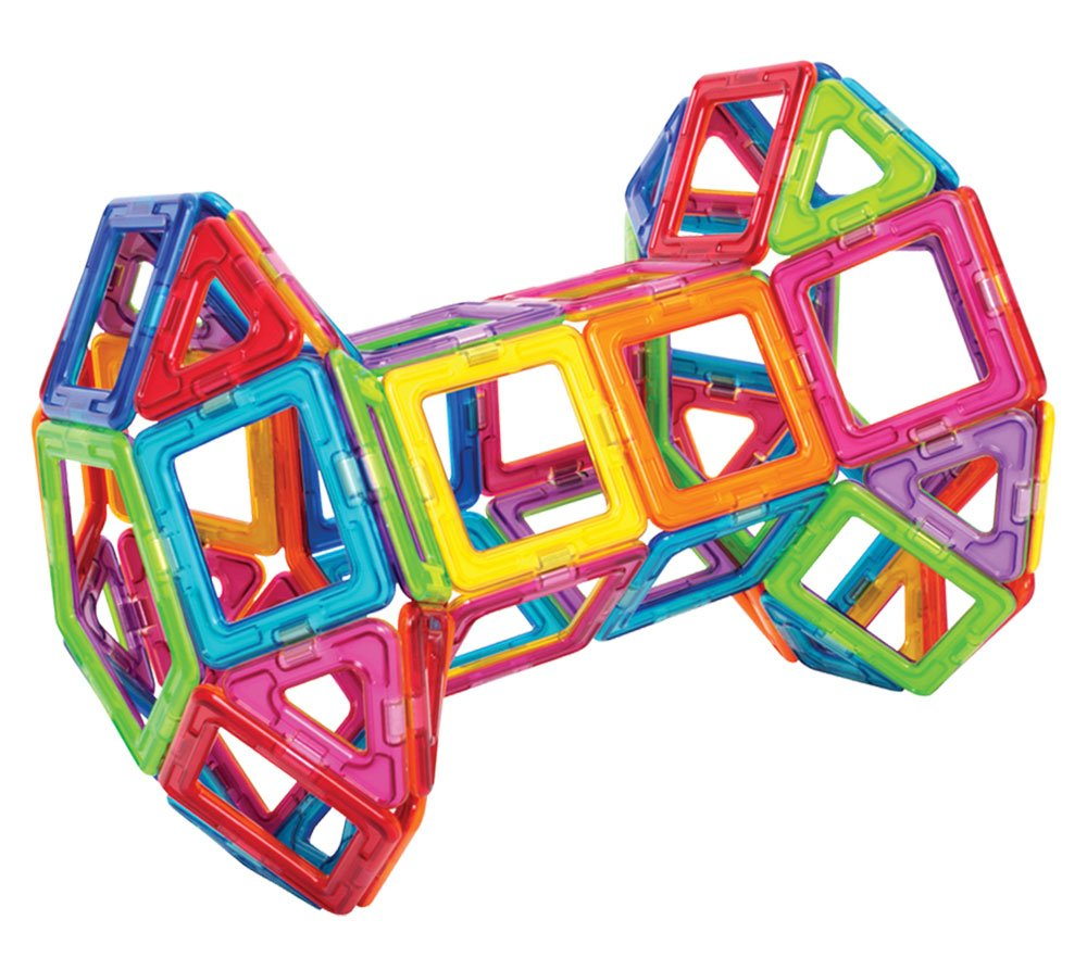 Magformers Basic Set (62-Pieces)  Magnetic Building Blocks, Educational Magnetic Tiles, Magnetic Building STEM Toy by Magformers (Image #7)