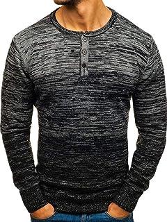 Adidas Men's Spring Essential Camo Crew Blue Sweatshirt