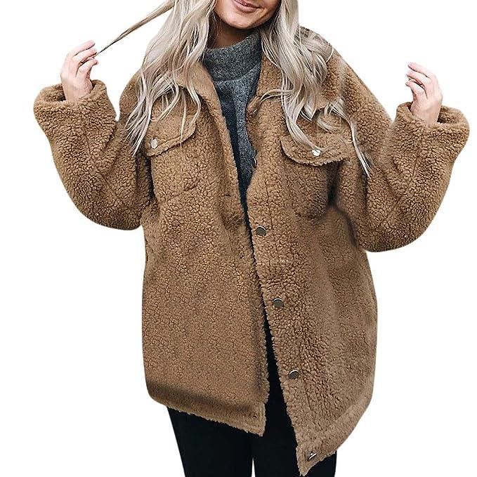 Btruely Herren Chaqueta Suéter para Mujer, Abrigo Jersey Mujer Invierno Talla Grande Hoodie Sudadera con Cremallera Jersey Mujer Caliente y Esponjoso Top de ...