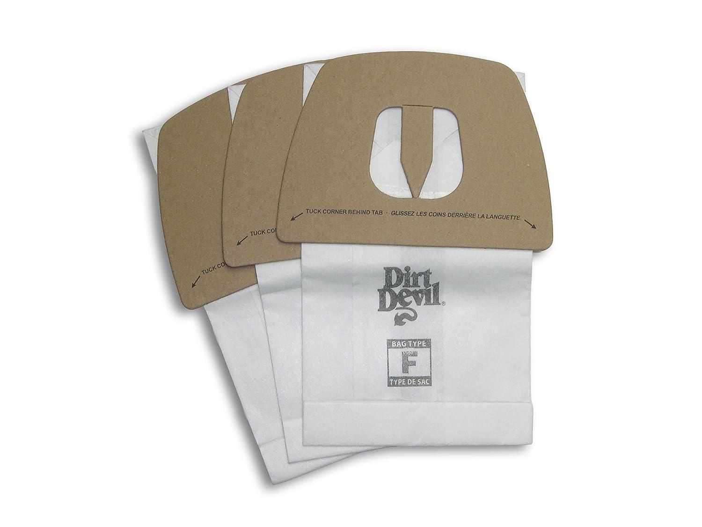 9-pack 3200147001 Genuine Dirt Devil Style F Bags