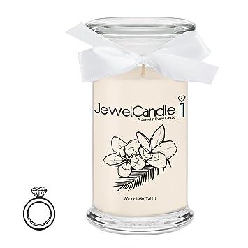 Avec Monoi De Bijou Jewelcandle Surprise Tahiti Parfumée Argentbaguexs Bougie En rdtshQBCx