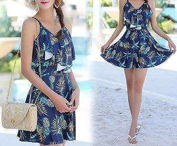 HOMEE Traje de baño Beach Skirt - Falda de una Sola Manga de ...