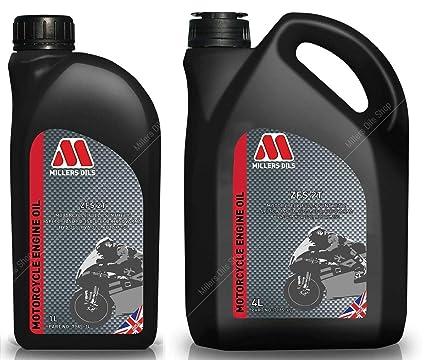 Millers Oils ZFS 2T Aceite de Motor de Motocicleta Totalmente ...