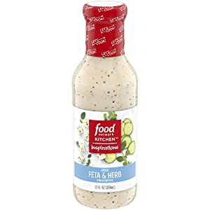 Food Network Kitchen Inspirations Greek Feta Herb Vinaigrette (12 fl oz Bottle)