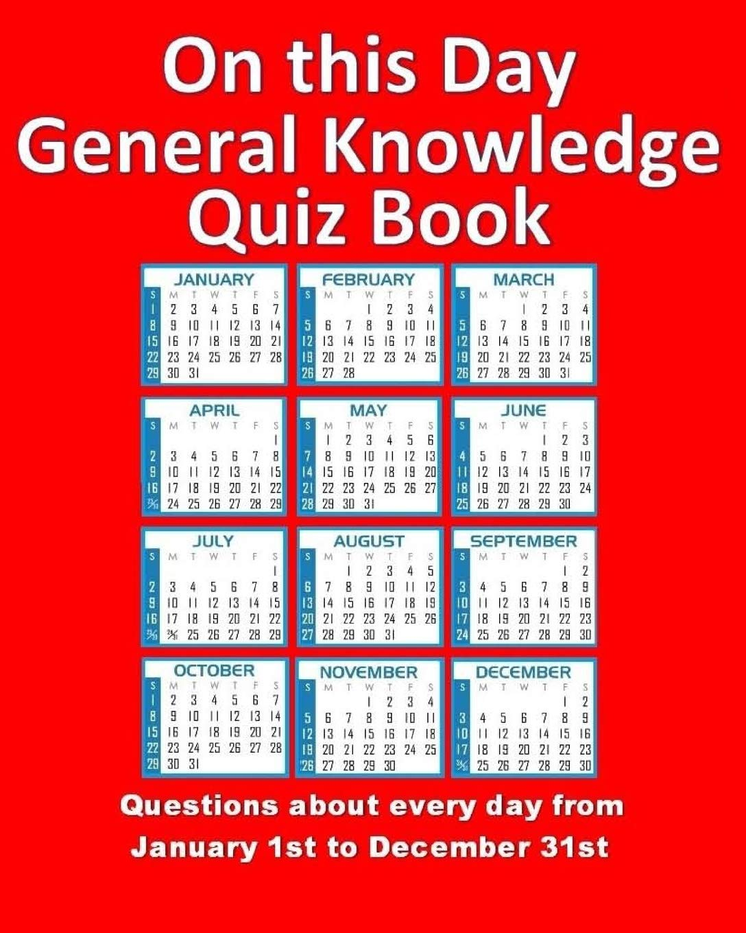 Buy On This Day General Knowledge Quiz Book: Questions about