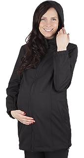 6ebd135d215ae Mija 2 in1 Comfortable Maternity Pregnancy Warm and Elegant Coat Jacket  100% Softshell 3059