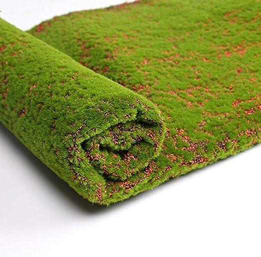 Amazon Com Julvie Artificial Grass Turf Fake Moss Grass Rug