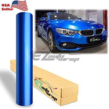 "4/""x8/"" Sample Gloss Glossy Red Car Vinyl Wrap Sticker Air Release Bubble Free"