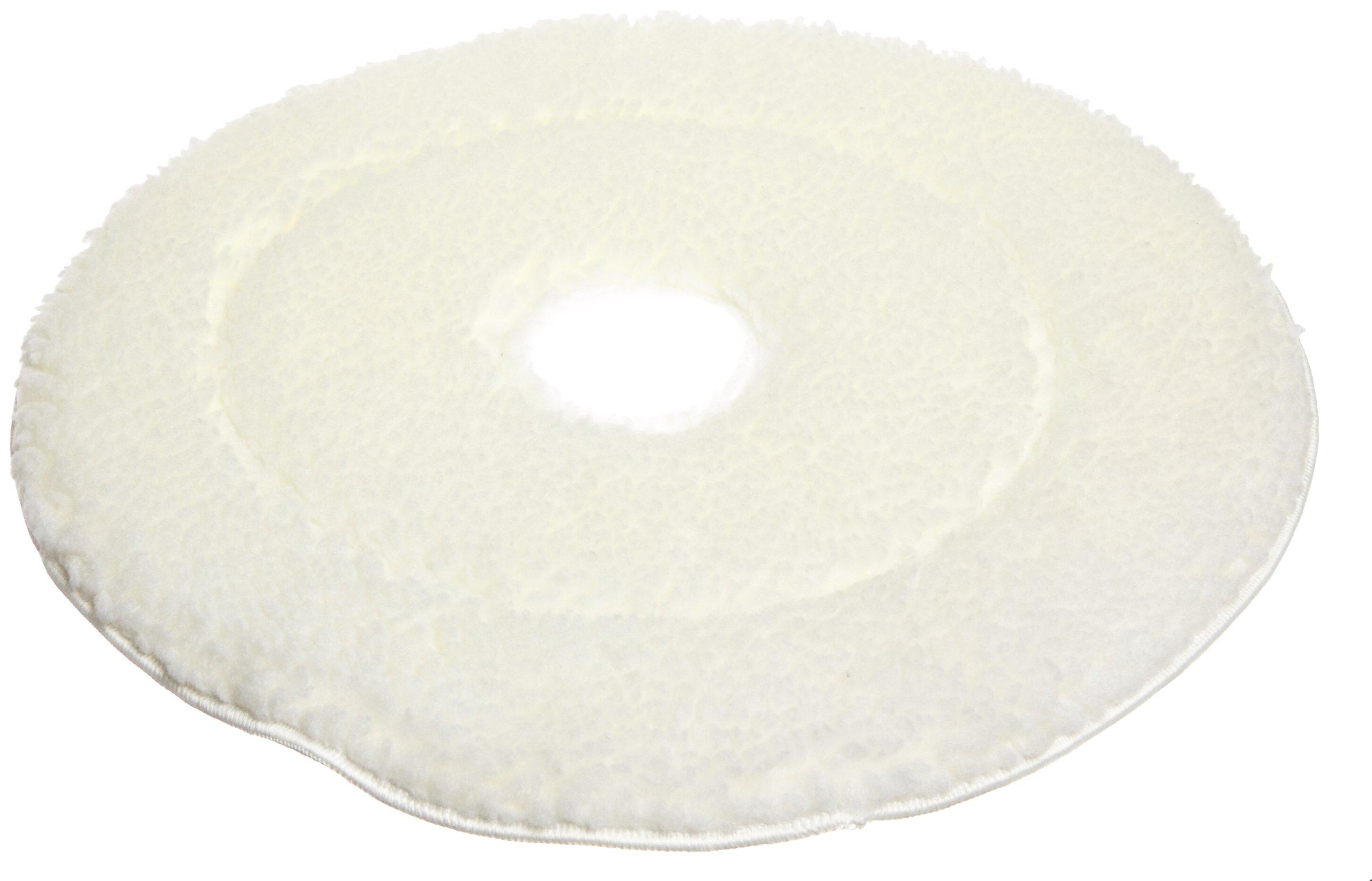 Impact BURN19S Microfiber High Speed Burnishing Pad, 19'' Diameter, White (Case of 5)