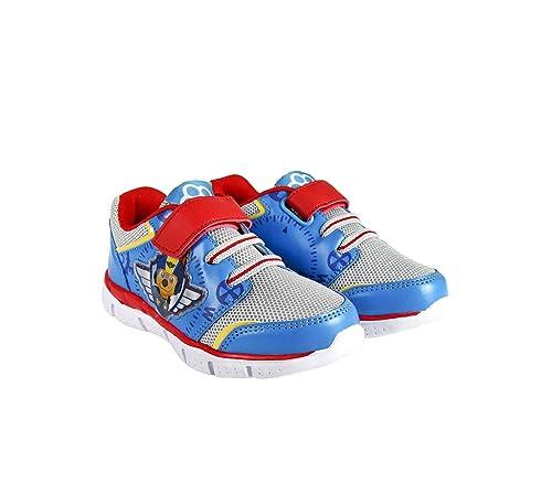 23-2650 Zapatillas Deporte para niño Chase Paw Patrol Cierre Velcro Full Print (22
