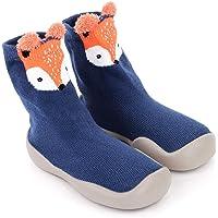 Kinderen sokschoenen unisex antislip babysokschoenen winterslippers babyschoenen kruipschoenen voor meisjes jongens