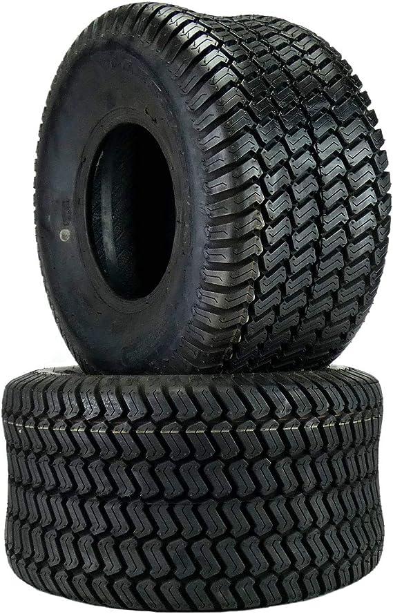 (2) Wanda 20x10.00-8 Tires 4 Ply Lawn Mower Garden Tractor 20x10.00-8 Turf Master Tread